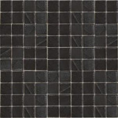 EPOCH Metalz Palladium-1011 Mosiac Recycled Glass Mesh Mounted Tile - 4 in. x 4 in. Tile Sample