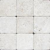 MS International 4 In. x 4 In. Tumbled Chiaro Travertine Floor & Wall Tile