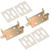 Johnson Hardware 1-3/4 in. Door Adapter Kit