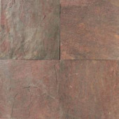 Daltile Natural Stone Collection Copper 12 in. x 12 in. Slate Floor and Wall Tile (10 sq. ft. / case)