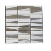 Splashback Tile Great Charlemagne Marble Floor and Wall Tile - 6 in. x 6 in. Tile Sample