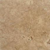 MS International Walnut Blend 18 In. x 18 In. Honed-Filled Travertine Floor & Wall Tile