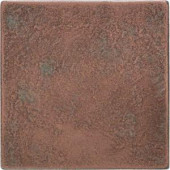 Daltile Castle Metals 4-1/4 in. x 4-1/4 in. Aged Copper Metal Wall Tile