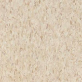 Armstrong Standard Excelon Imperial Texture VCT 12 in. x 12 in. Sandrift White Standard Excelon Composition Vinyl Tile (45-Pack)