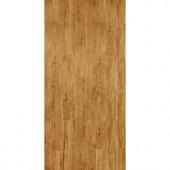 TrafficMASTER InterLock 5-45/64 in. x 35-45/64 in. x 4 mm Rustic Maple Honeytone Resilient Vinyl Plank Flooring (22.66 sq. ft./case)